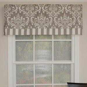 window valances, café & kitchen curtains you'll love | wayfair