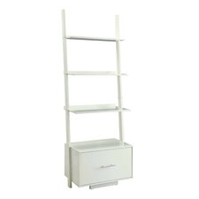 """Meghan 69"""" Leaning Bookcase"""