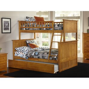 good abbie twin extra long over full bunk bed with trundle with full extra long bed frame