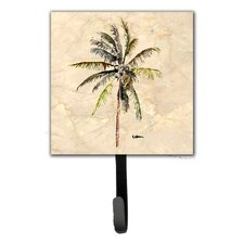 Palm Tree Leash Holder and Wall Hook by Caroline's Treasures