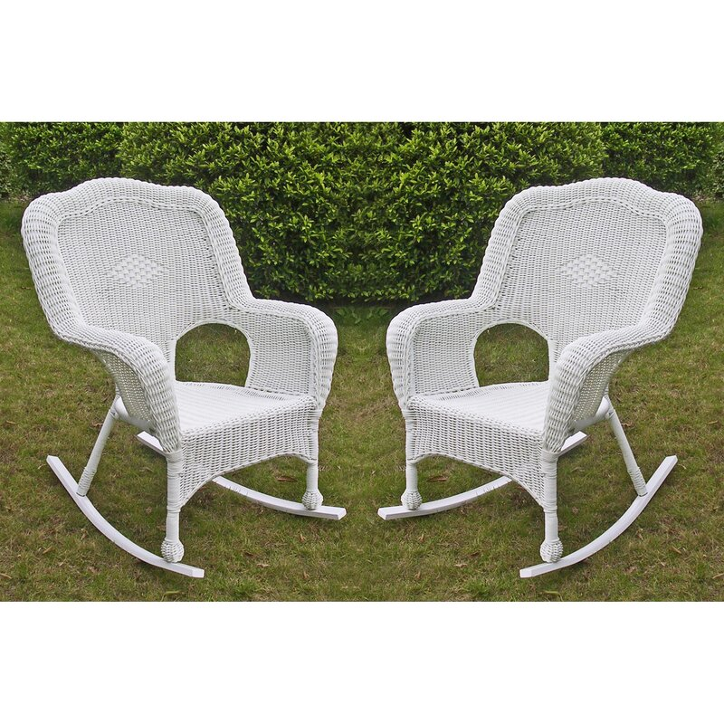 ... Wicker U0026 Rattan Patio Rocking Chairs U0026 Gliders; SKU: THRE5430.  Default_name
