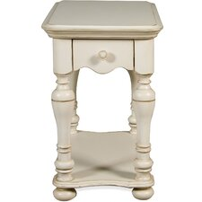 Vassar Chairside Table by Beachcrest Home