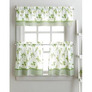 cherelle herb graden kitchen curtains. Interior Design Ideas. Home Design Ideas