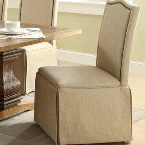 Fredericksburg Skirted Parson Chair (Set of 2) by Alcott Hill