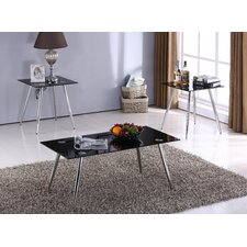Salas 3 Piece Coffee Table Set by Wade Logan