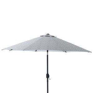 9u0027 Herringbone Patio Market Umbrella