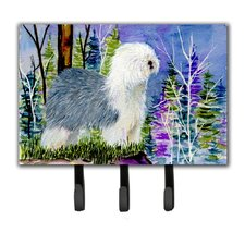 Old English Sheepdog Key Holder by Caroline's Treasures