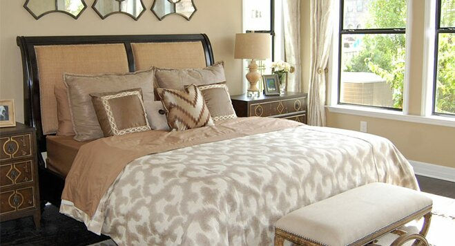 decorate your bedroom on a budget | wayfair