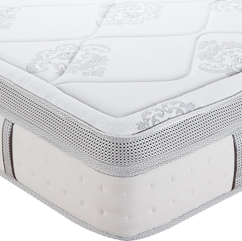 classic brands gramercy 14 medium hybrid innerspring mattress