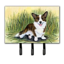 Corgi Leash Holder and Key Holder by Caroline's Treasures