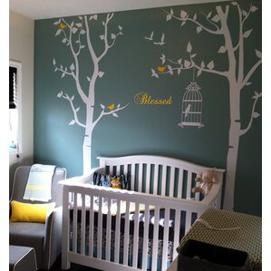 Trees And Flower Wall Decals Youll Love Wayfair