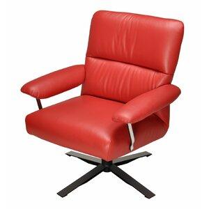Pennsville Swivel Armchair by Latitude Run