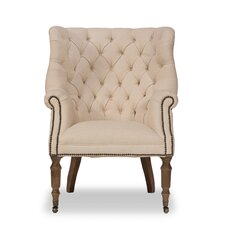 Welsh Wing back Chair by Sarreid Ltd