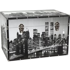 New York Scenes Trunk by Oriental Furniture