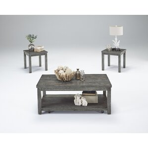 Casters Coffee Table Sets Youll Love Wayfair
