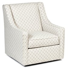 Adriel Linen Swivel Armchair by Latitude Run