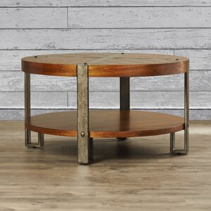 industrial coffee tables you'll love | wayfair