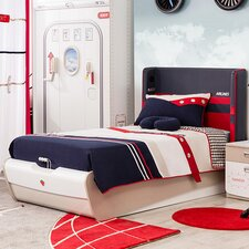 First Class Airplane Twin Panel Customizable Bedroom Set by Cilek
