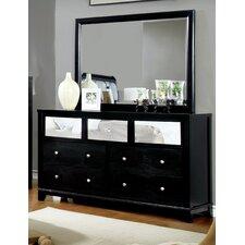 Ariadne 7 Drawer Dresser with Mirror by Rosdorf Park
