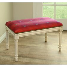 Butterfly Wood Entryway Bench by 123 Creations