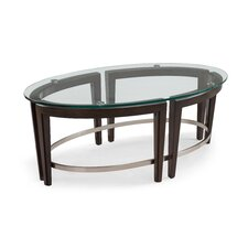 Heslin Oval Coffee Table by Brayden Studio