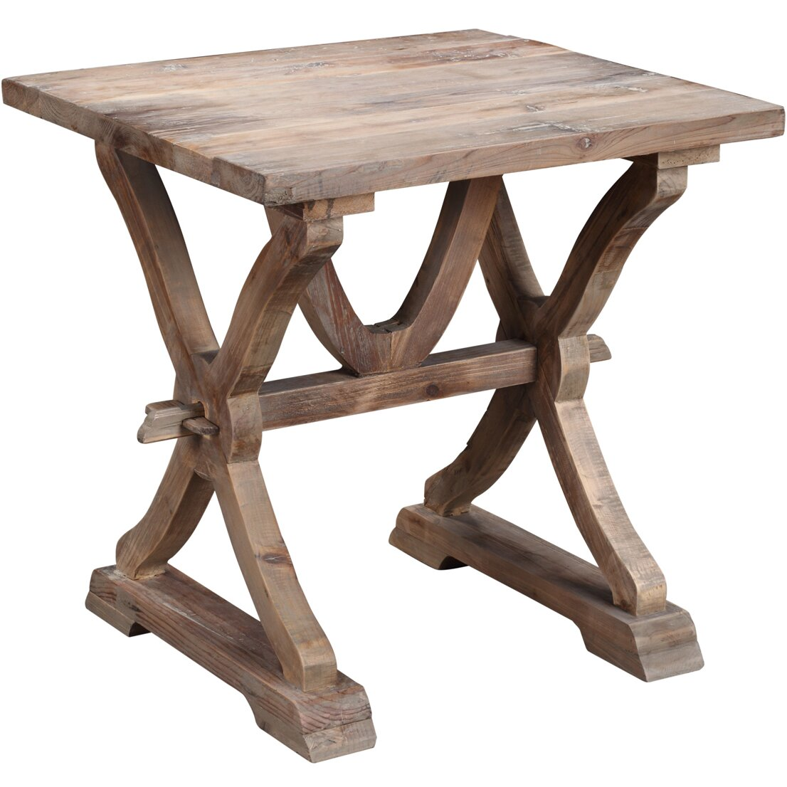 Colette Reclaimed Wood End Table - Colette Reclaimed Wood End Table & Reviews Joss & Main