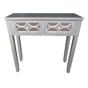 Wooden 2 Drawer Console Table by Jeco Inc.