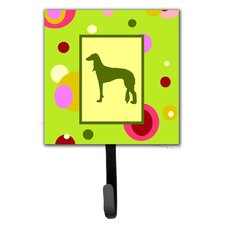 Saluki Leash Holder and Wall Hook by Caroline's Treasures