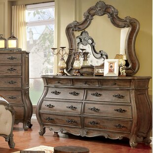 Adorno 9 Drawer Dresser with Mirror