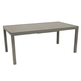 Jones Extendable Aluminium Dining Table By Sol 72 Outdoor