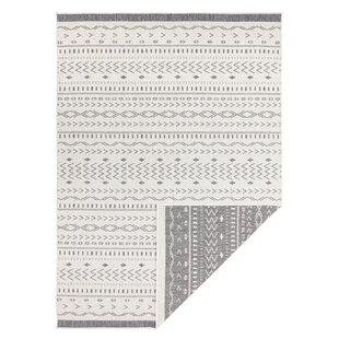 Kuba Woven Grey Rug Image