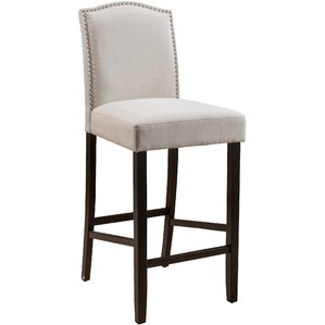 Baltimore 30  Bar Stool  Set  Fabric Bar Stools You ll Love   Wayfair. Fabric Covered Counter Height Chairs. Home Design Ideas