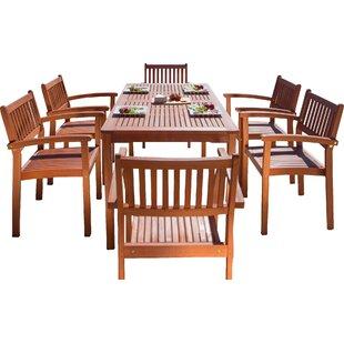 Monterry 7 Piece Dining Set