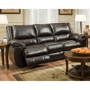 Latitude Run Simmons Upholstery Lena Motion Reclining Sofa