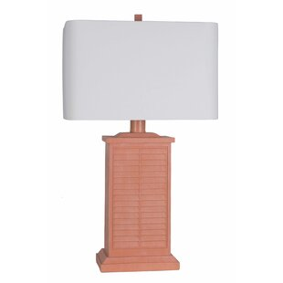 Kamron Coral Shutter 33 Table Lamp