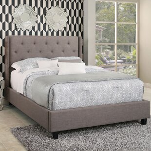 Erica Tufted Upholstered Platform Bed by Darby Home Co