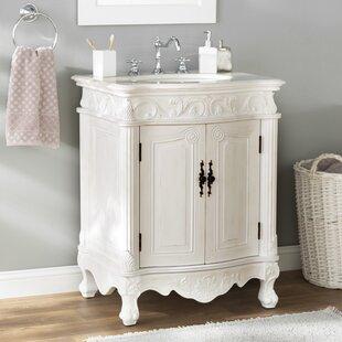 32 Inch White Bathroom Vanity Wayfair