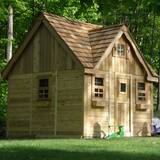 Laurens Cottage 9.17' x 8.75' Playhouse by Outdoor Living Today