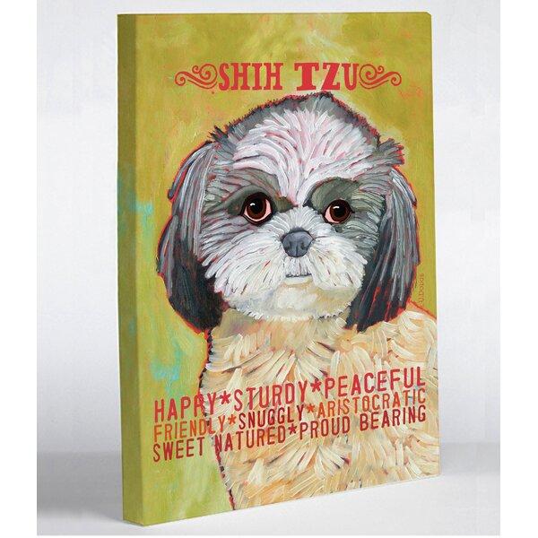 Shih-Tzu Shih-Tzu Dog Greeting Card Dog Wood Card Laser Cut Wooden Greeting Card