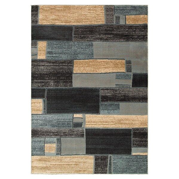 T Austin Design Aimee Oblong Blocks Blue Ivory Area Rug Reviews Wayfair