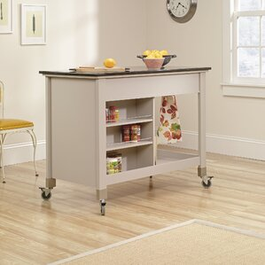 Quinte Kitchen Island by August Grove