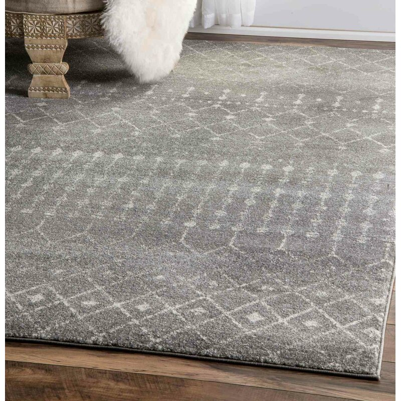 Ordinaire Clair Dark Gray Area Rug