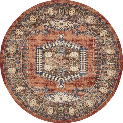 Red Round Rugs You Ll Love In 2020 Wayfair