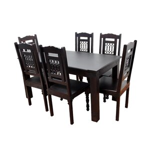Cullens 7 Piece Dining Set by Fleur De Lis Living Modern