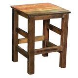 Honoria Solid Wood 24 Counter Stool by Loon Peak®