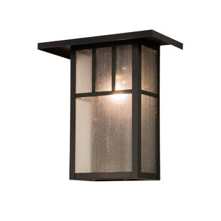 Compare prices 1-Light Outdoor Flush Mount By Meyda Tiffany