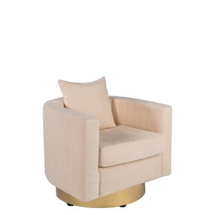 Partone Swivel Barrel Chair