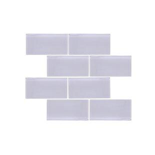 Valencia 3 X 6 Light Grey Gl Subway Tile