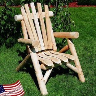 Allred Urban Solid Wood Adirondack Chair