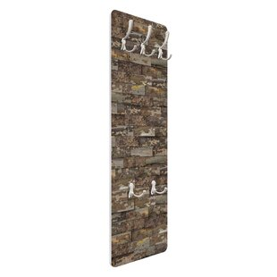 Plate Bark Wall Mounted Coat Rack By Symple Stuff